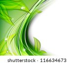 beautiful abstract floral... | Shutterstock .eps vector #116634673
