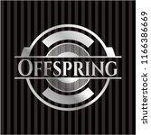 offspring silver shiny badge | Shutterstock .eps vector #1166386669