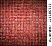 ceramic mosaic with vignette