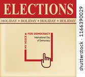 elections sheet   special... | Shutterstock .eps vector #1166390029