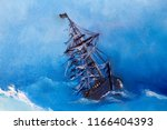 Sailing Pirate Ghost Ship ...