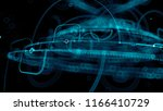 3d render abstract background.... | Shutterstock . vector #1166410729