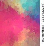 abstract colorful digital... | Shutterstock . vector #1166432269