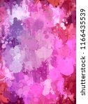 abstract colorful digital... | Shutterstock . vector #1166435539