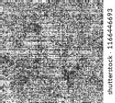 halftone texture black and white | Shutterstock .eps vector #1166446693