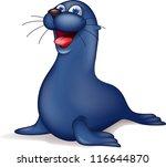 seal cartoon | Shutterstock . vector #116644870