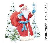 watercolor illustration of... | Shutterstock . vector #1166473573