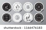 stock vector set of label for... | Shutterstock .eps vector #1166476183