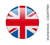 the british flag in the form of ... | Shutterstock . vector #116647960