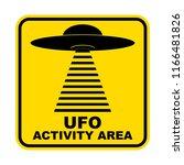 humorous danger road signs for... | Shutterstock .eps vector #1166481826