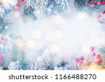 christmas and new year holidays ... | Shutterstock . vector #1166488270