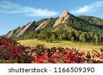 Rocky Mountain Scenic Flatirons ...