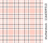 Seamless Plaid Pattern In Pink...