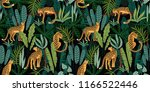vestor seamless pattern with... | Shutterstock .eps vector #1166522446