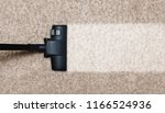 cleaning white with pile carpet ... | Shutterstock . vector #1166524936