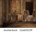 Fantasy Chamber In An Ancient...