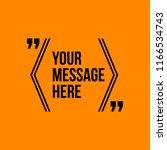 innovative vector quotation... | Shutterstock .eps vector #1166534743
