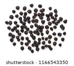 dried cherry isolated on white... | Shutterstock . vector #1166543350