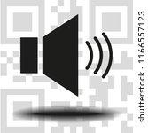 vector icon sound   Shutterstock .eps vector #1166557123