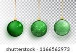 green christmas tree toy set... | Shutterstock .eps vector #1166562973