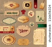 scrapbooking collection.... | Shutterstock .eps vector #116656324