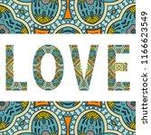 love sign symbol. decorative... | Shutterstock .eps vector #1166623549