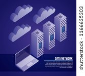 data network card | Shutterstock .eps vector #1166635303