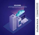 data network card | Shutterstock .eps vector #1166635333