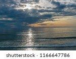 Sunset Seascape  Orange  Blue ...