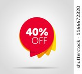 special offer sale red tag... | Shutterstock . vector #1166672320