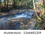 shallow water waterfall | Shutterstock . vector #1166681209