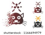 crypto ripple kitty icon in... | Shutterstock .eps vector #1166694979