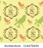 Romantic Pattern With Canary...