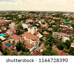 aerial view of siem reap ... | Shutterstock . vector #1166728390
