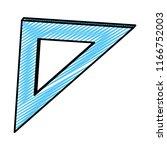 doodle square ruler school tool ...   Shutterstock .eps vector #1166752003