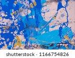 ink handmade painting. abstract ... | Shutterstock . vector #1166754826