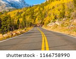 highway at autumn sunny day in... | Shutterstock . vector #1166758990