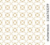 vector golden ornament pattern... | Shutterstock .eps vector #1166763259