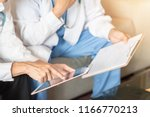 hospital doctor teamwork ... | Shutterstock . vector #1166770213
