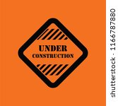 icon of under construction....   Shutterstock .eps vector #1166787880