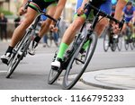 cycle race  close up | Shutterstock . vector #1166795233