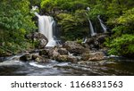the waterfalls at inversnaid as ... | Shutterstock . vector #1166831563