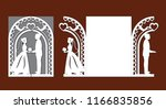 Laser Cut Template Of Wedding...