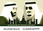 riyadh  kingdom of saudi arabia ... | Shutterstock .eps vector #1166836999