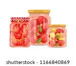 vegetables granny preparation...   Shutterstock .eps vector #1166840869