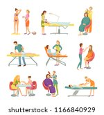 procedures in spa and beauty... | Shutterstock .eps vector #1166840929