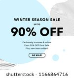 90  off special offer price... | Shutterstock .eps vector #1166864716