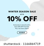 10  off special offer price... | Shutterstock .eps vector #1166864719