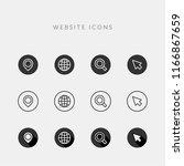 website icons   vector line...   Shutterstock .eps vector #1166867659