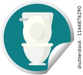 open toilet graphic vector... | Shutterstock .eps vector #1166876290